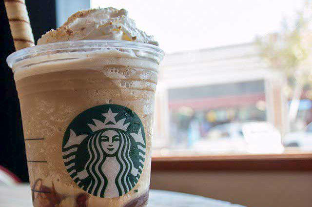 Starbucks coffee drink