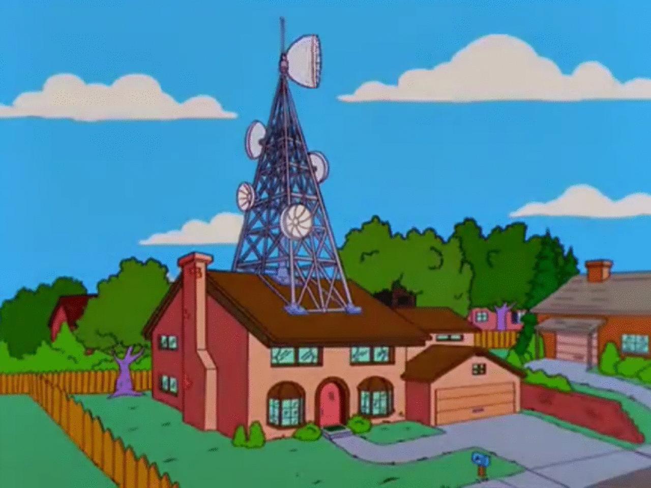 Simpsons antenna
