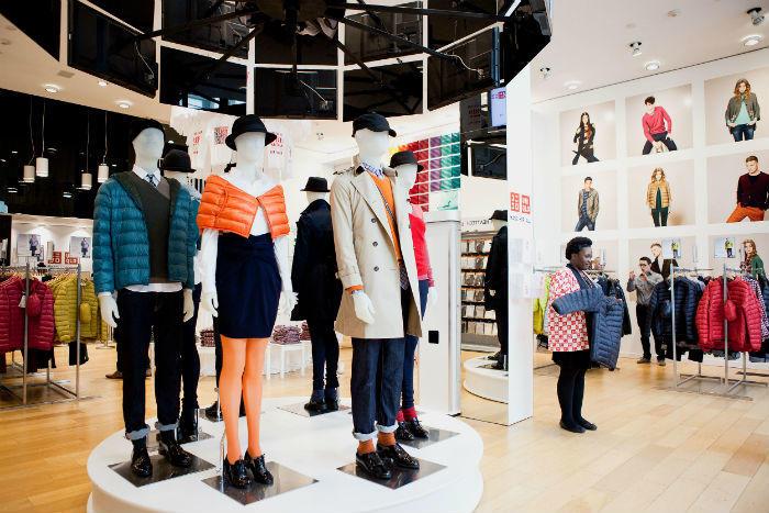 Uniqlo store display