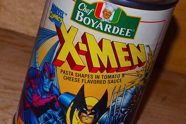 X-Men Chef Boyardee can