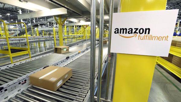 Amazon fulfillment warehouse