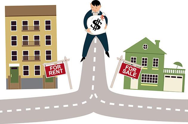 buy vs. rent home
