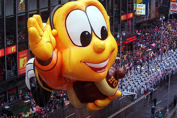 Honey Nut Cheerios Bee in Macy's Parade