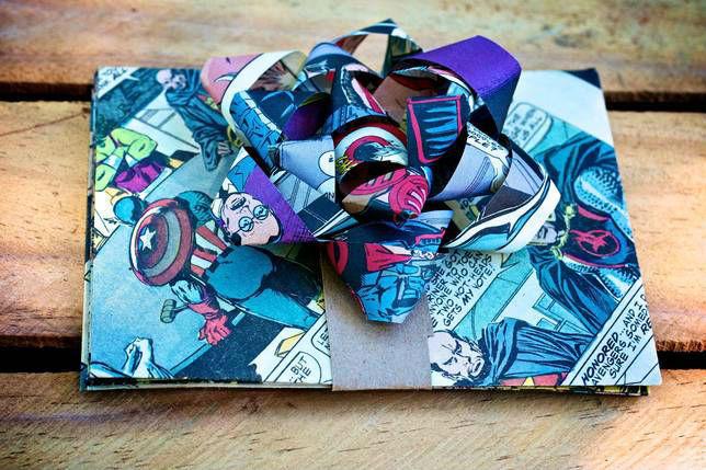 comic book bow