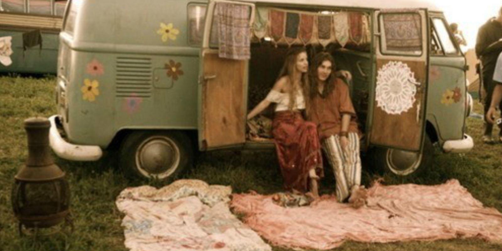 hippie VW microbus