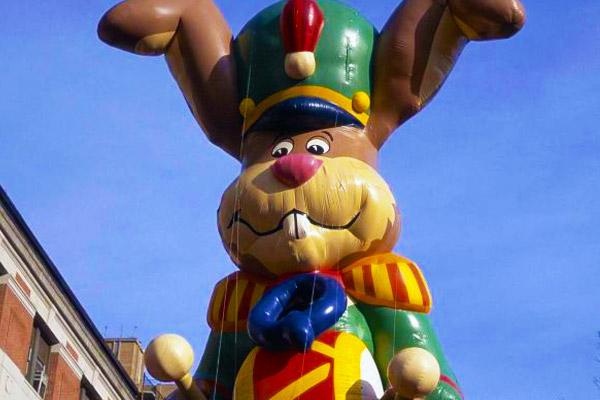 Nesquik Bunny in Macy's Parade