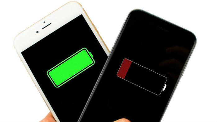 phone battery levels