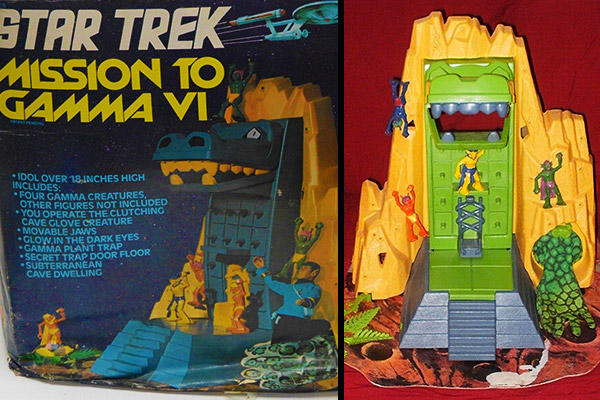 Star Trek Gamma VI playset