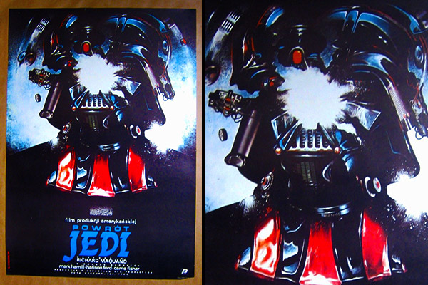 Darth Vader Polish poster