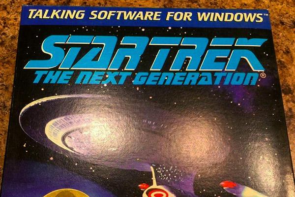 Star Trek talking software