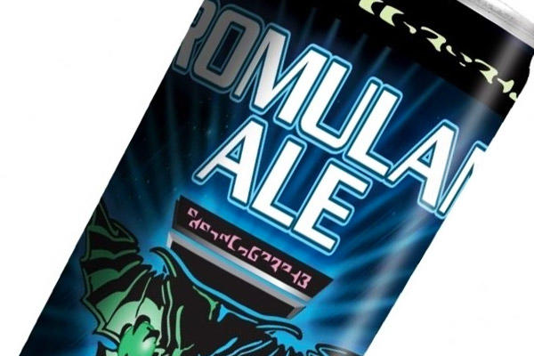 Can of Romulan Ale