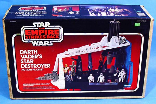 Darth Vader Star Destroyer playset
