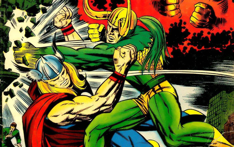 Thor Loki Norse Marvel