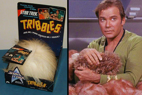 Tribbles with Captain Kirk