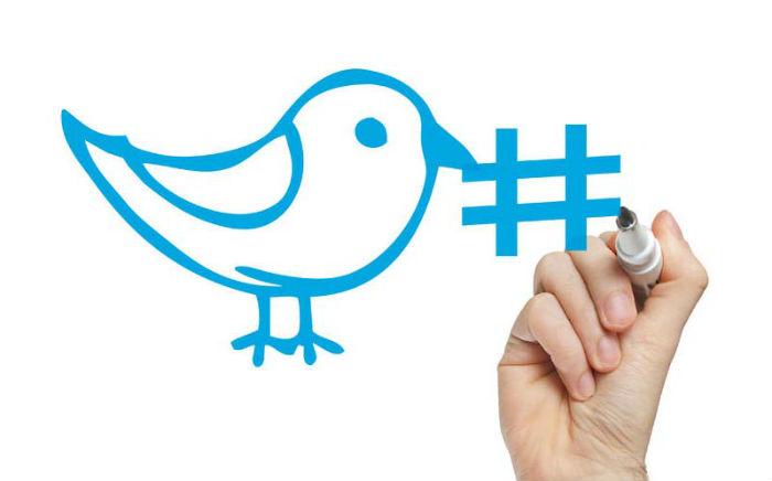 draw Twitter hashtag