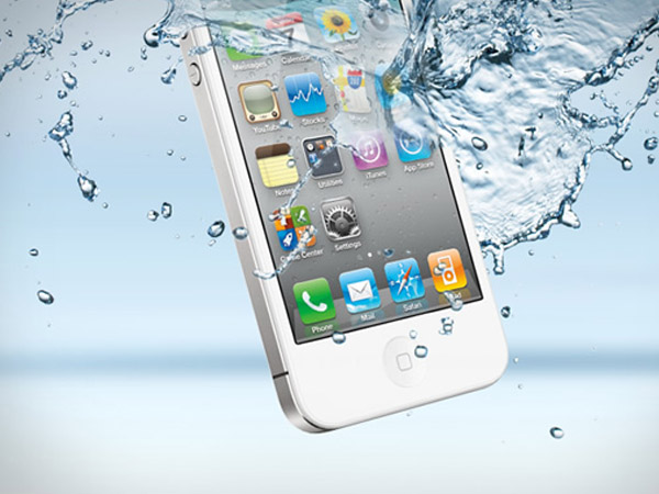 Wet iPhone