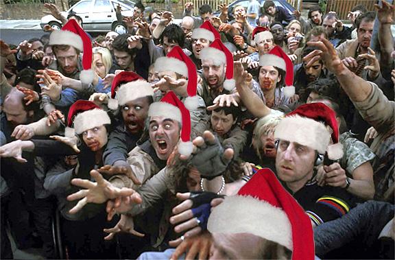 Santa Hat Zombies